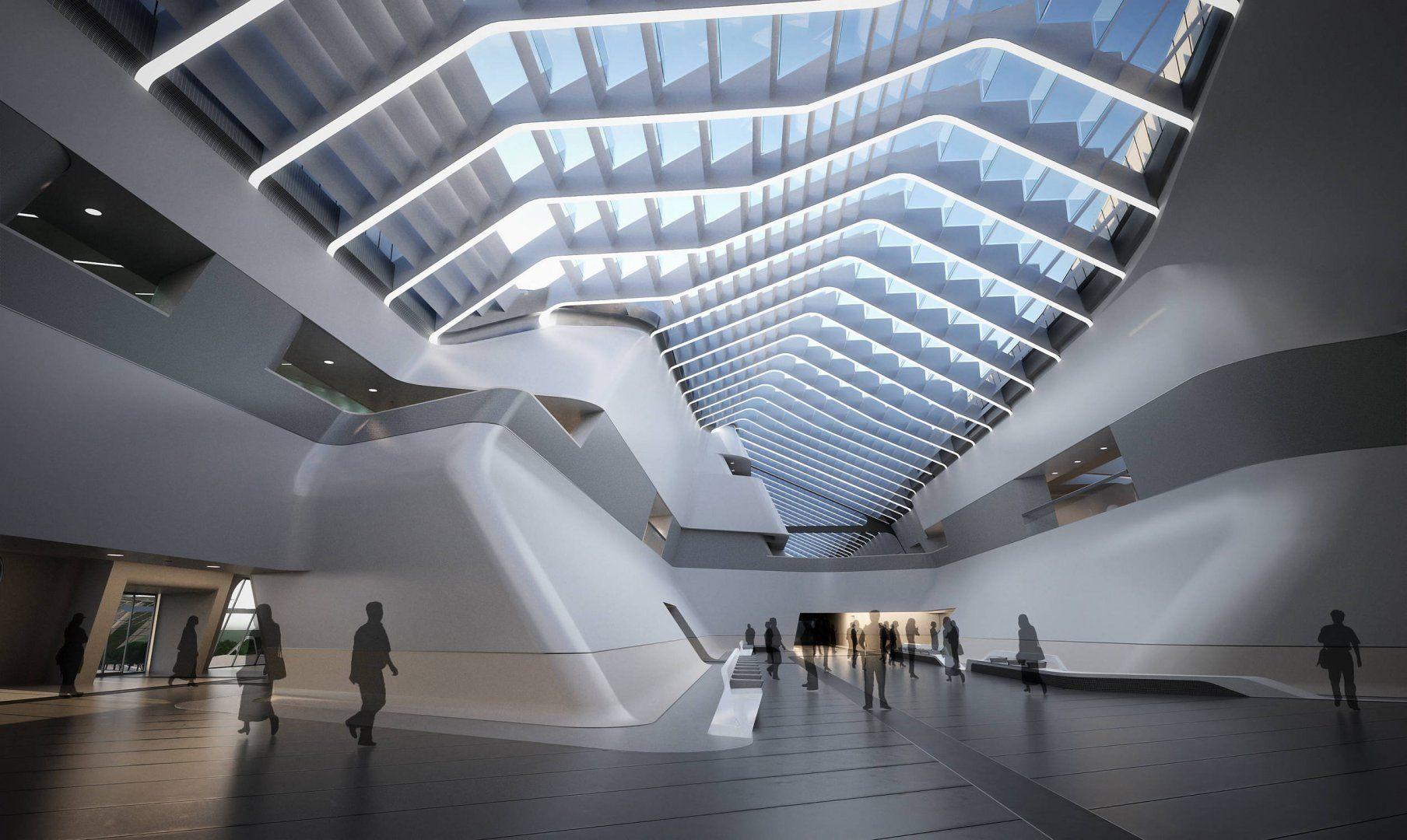 Napoli Afragola High Speed Train Station In Naples Italy By Zaha Hadid Architects