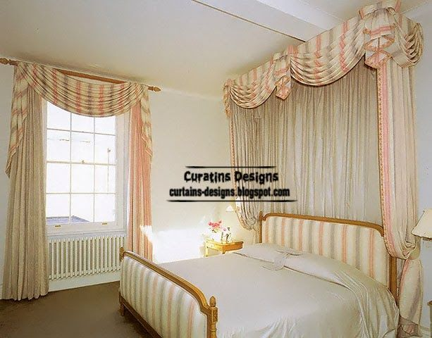Striped curtains classic designs for bedroom | Curtains | Pinterest ...