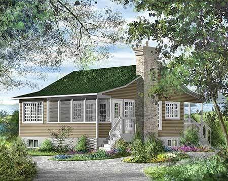 Plan 80618PM: Cozy Vacation Getaway | Cozy, Vacation and ... on tiny house 3d model, tiny house sketch up, tiny house fad, tiny house blueprints,