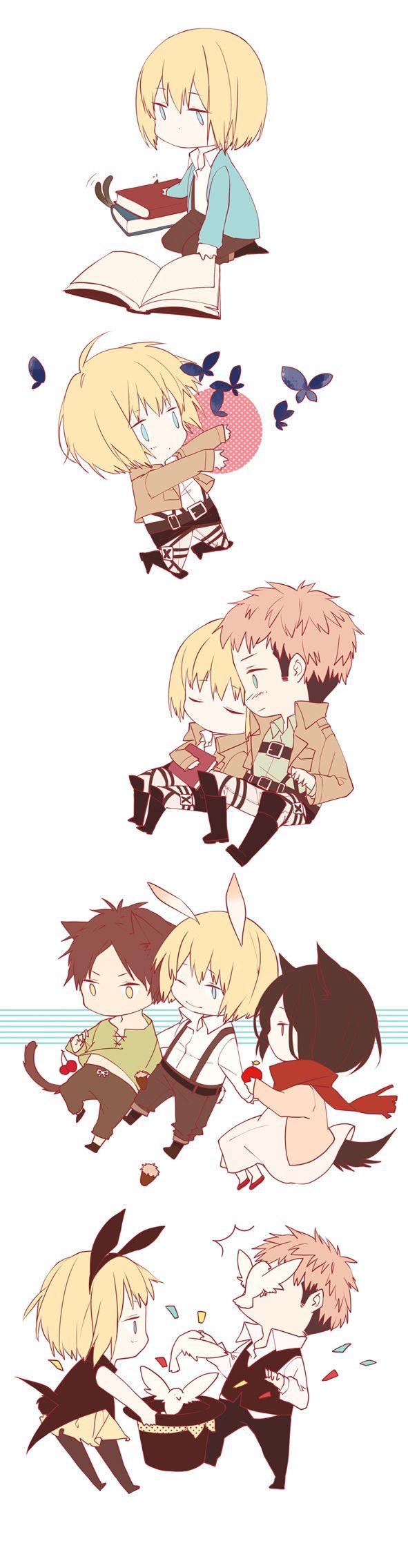 Armin in The Wonderland