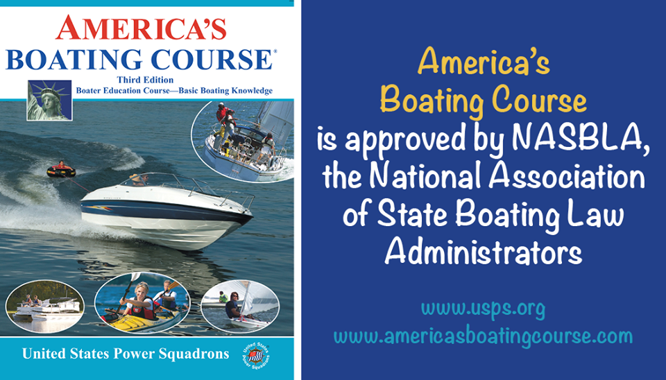 When you're looking for aboating course, the America's