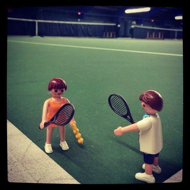 Up for a game or two? #tennis #playmobil #playmobilfan #playmobilfun #playmobilbliss #usta