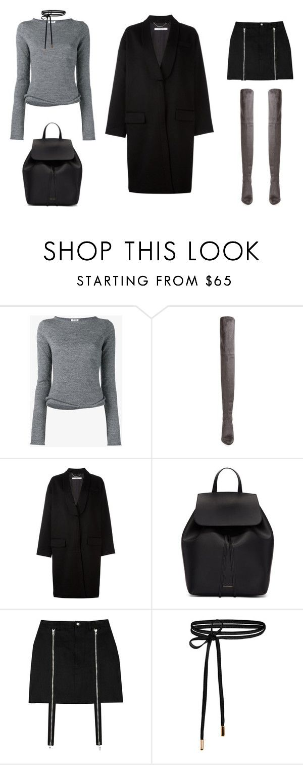 """sweater weather"" by carolinestyle96 ❤ liked on Polyvore featuring Acne Studios, Stuart Weitzman, Givenchy and Mansur Gavriel"
