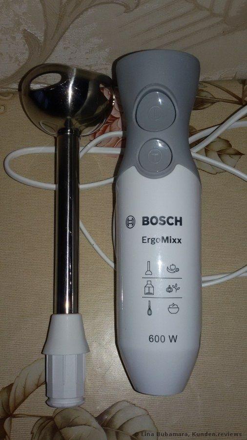 Bosch MSM66110 Ergonomischer Stabmixer Küchengeräte Pinterest - die besten küchengeräte