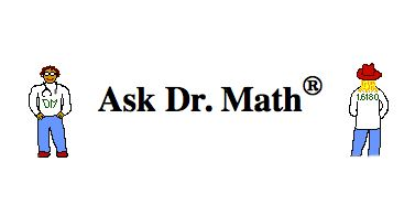 Ask Dr. Math  Middle School Archive