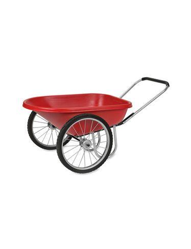 Wheelbarrow Polytough Garden Cart Pneumatic Wheels Gardeners Com Wheelbarrow Garden Cart Tough Shed