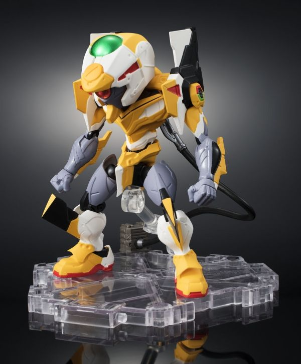 REVOLTECH YAMAGUCHI 124 EVA-02 Production Model with New Equipme... FROM JAPAN