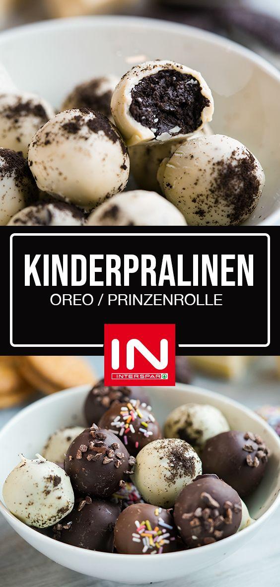 KINDERPRALINEN / OREO / PRINZENROLLE / APRIKOSE & HAFER I INTERSPAR