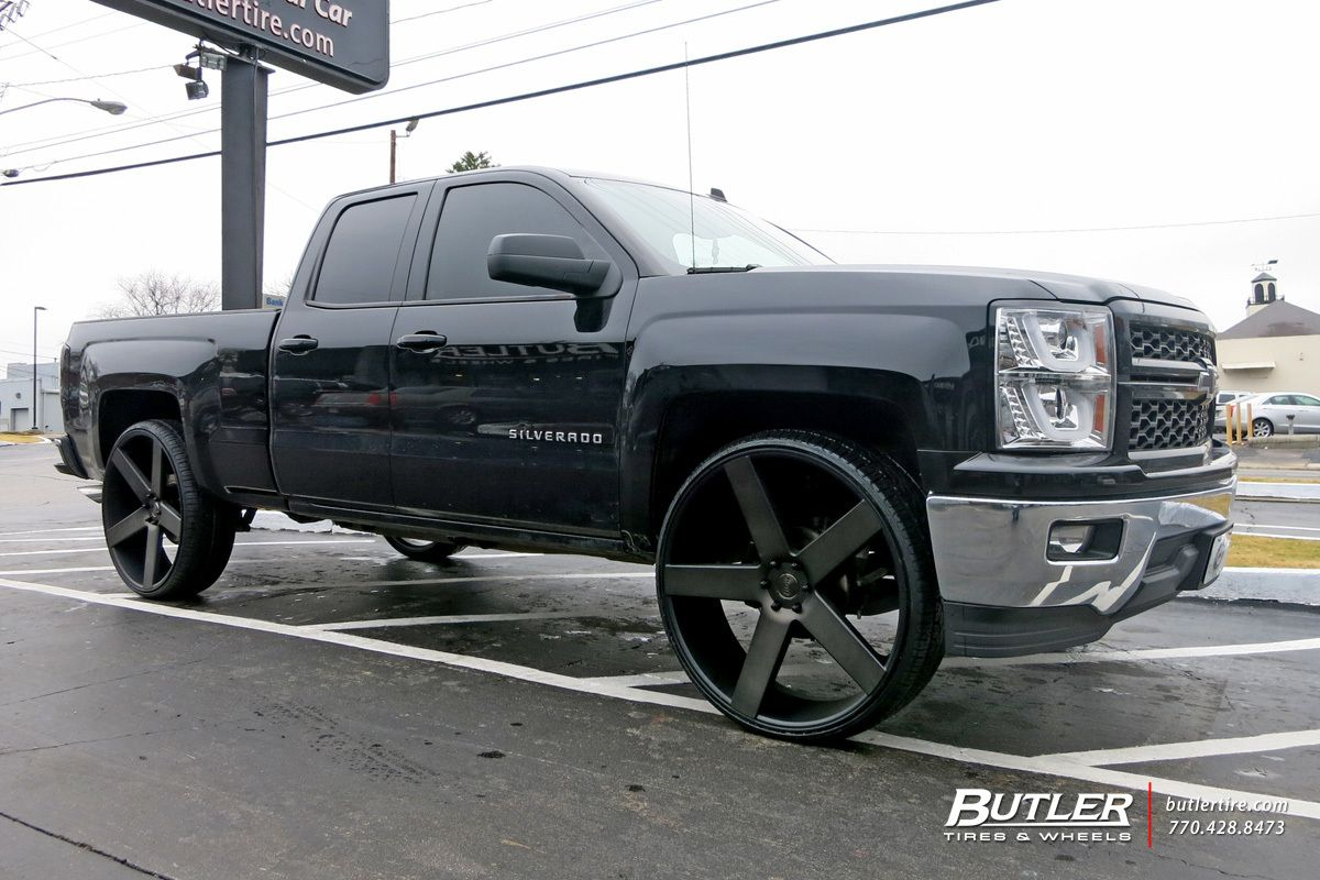 Chevrolet silverado with dub baller wheels exclusively from butler tires and wheels in atlanta ga image number 9354