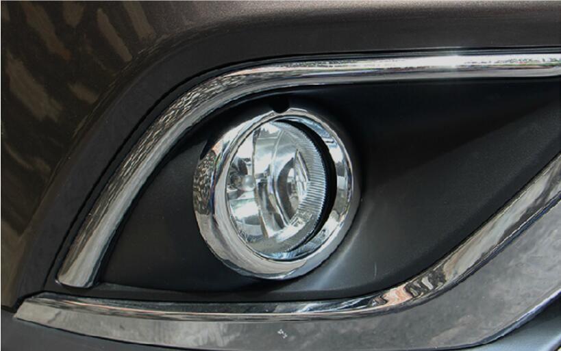 Front Fog Light Lamp Cover For Mitsubishi Outlander 2015