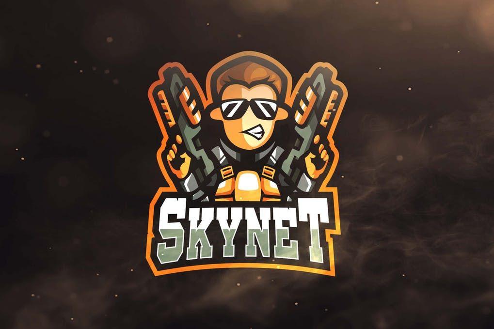 Thumbnail For Skynet Sport And Esports Logo Esports Logo Envato Graphic