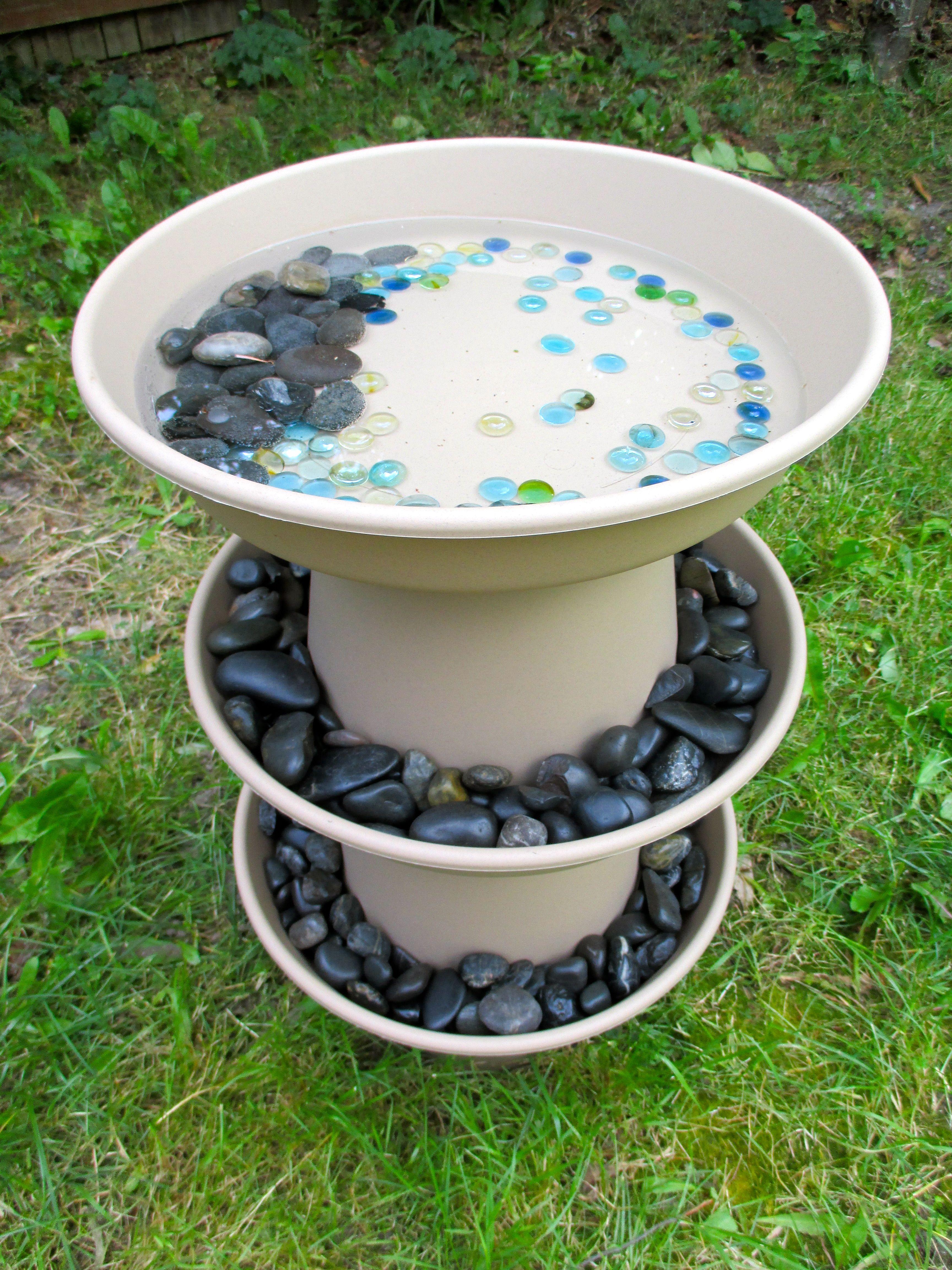 10 Beautiful Diy Bird Bath Ideas Kendin Yap Fikirleri Beautiful Kendin Yap