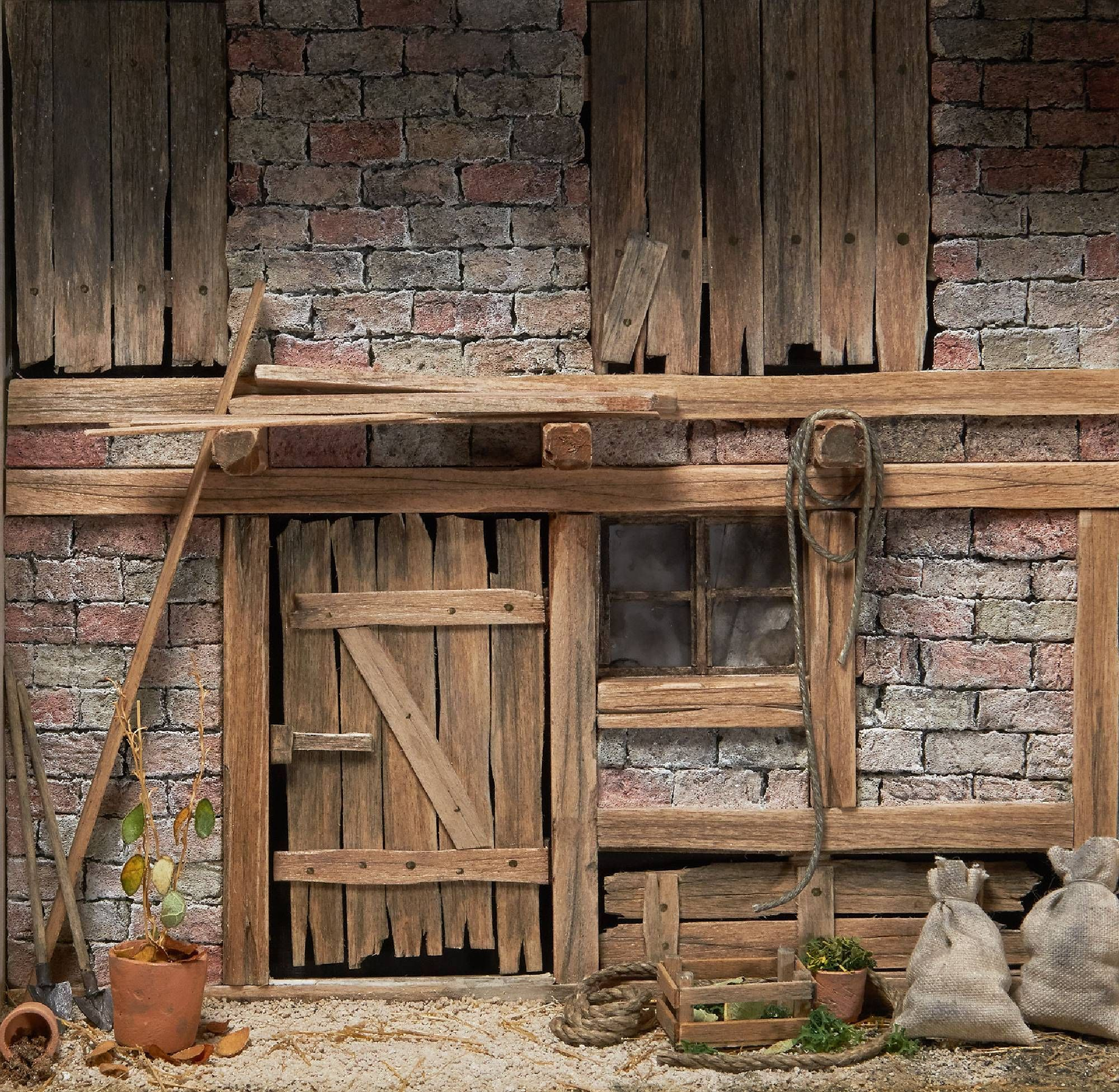 Building dioramas realistic and highly detailed wi