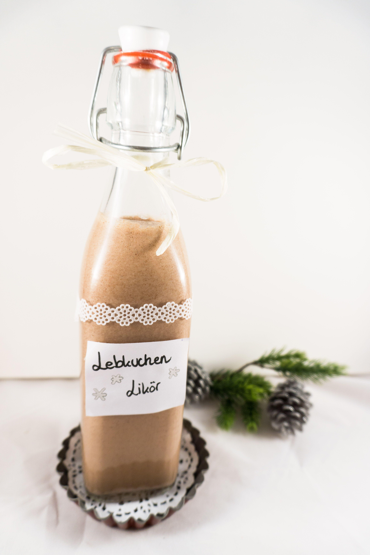 Weihnachtlicher Lebkuchen-Likör DIY mit Nutella und Lebkuchengewürz ...