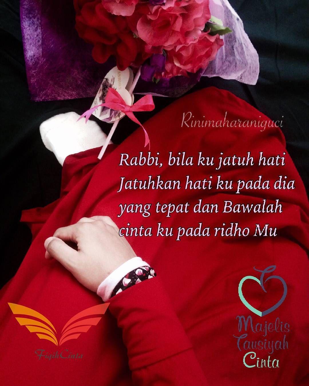 Cinta tak pernah salah Karena cinta fitrah dari-Nya Cinta ...