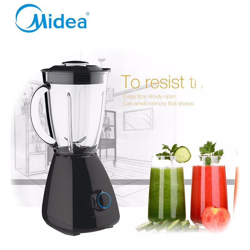Midea Black Good Quality Electric Kitchen Blenders Abs Plastic Stirring Mixing Machine Juice Blender
