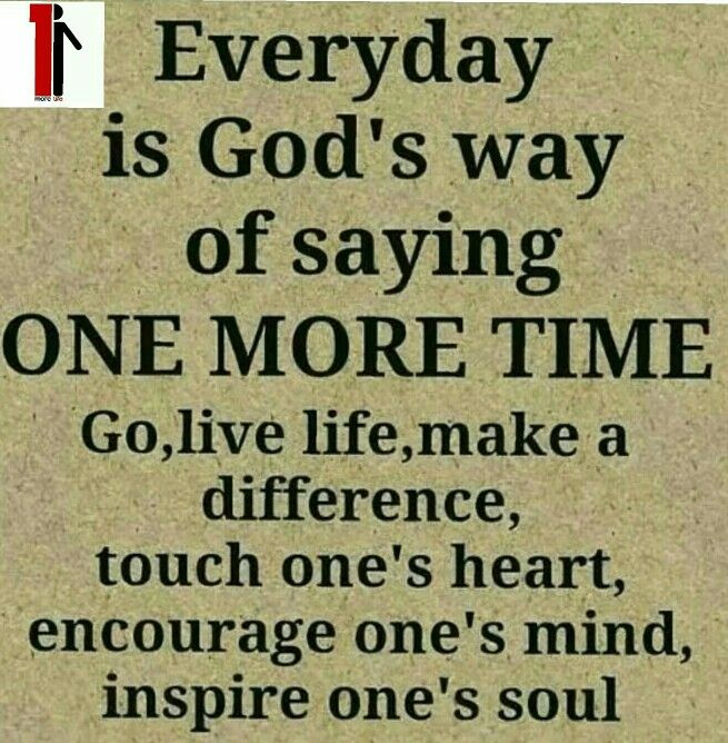 Touch a life today!!!
