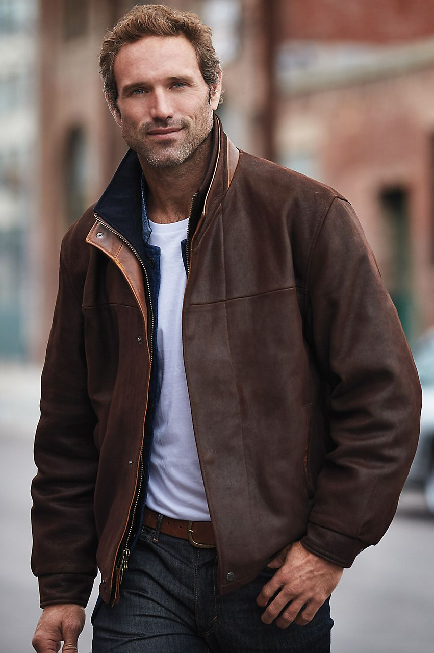 Pin By Terilynnndesigns Ii On Adventuous Rugged Men Leather Jacket Men Leather Jacket Men Style Stylish Men