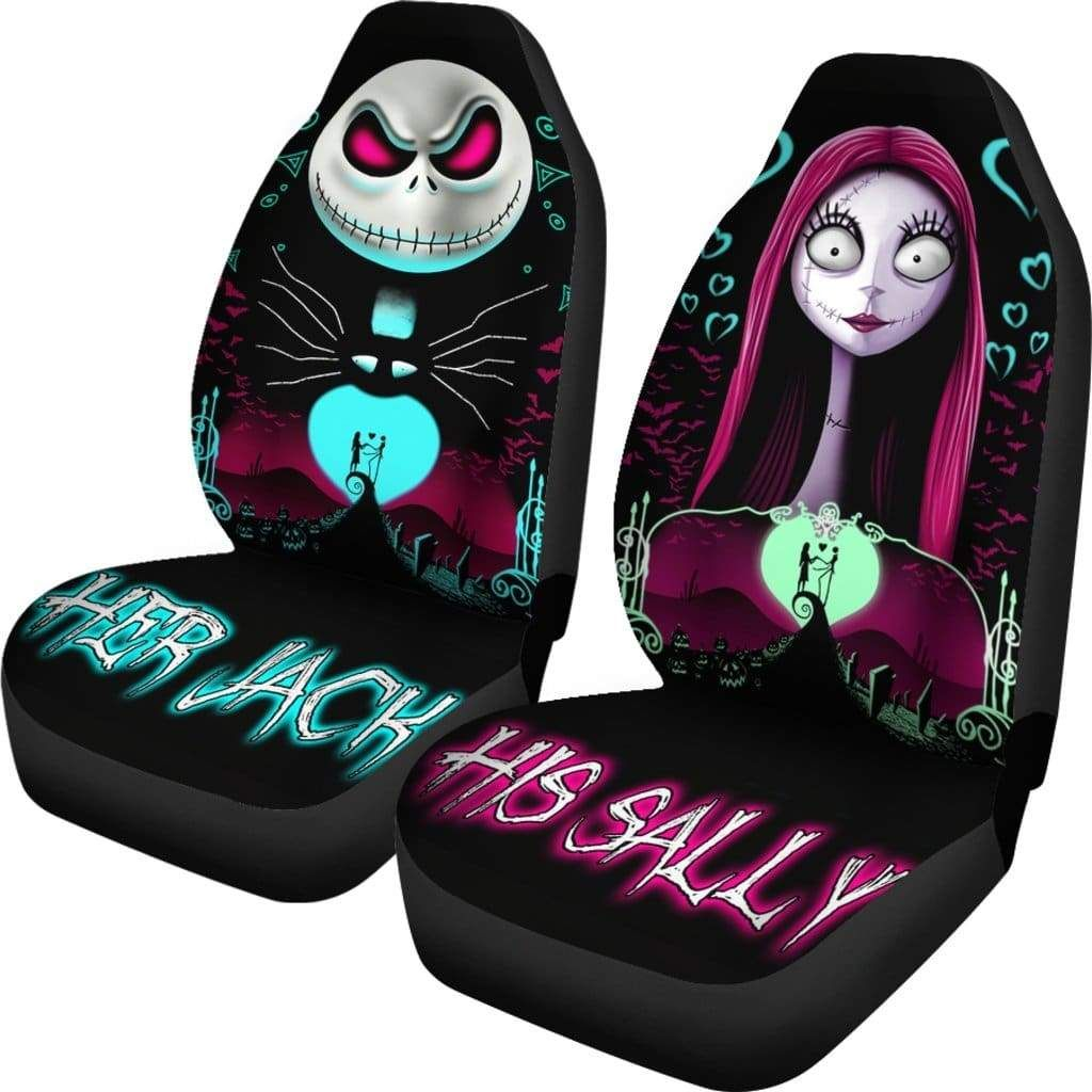 Stupendous Nightmare Before Christmas Car Seat Covers In 2019 Machost Co Dining Chair Design Ideas Machostcouk