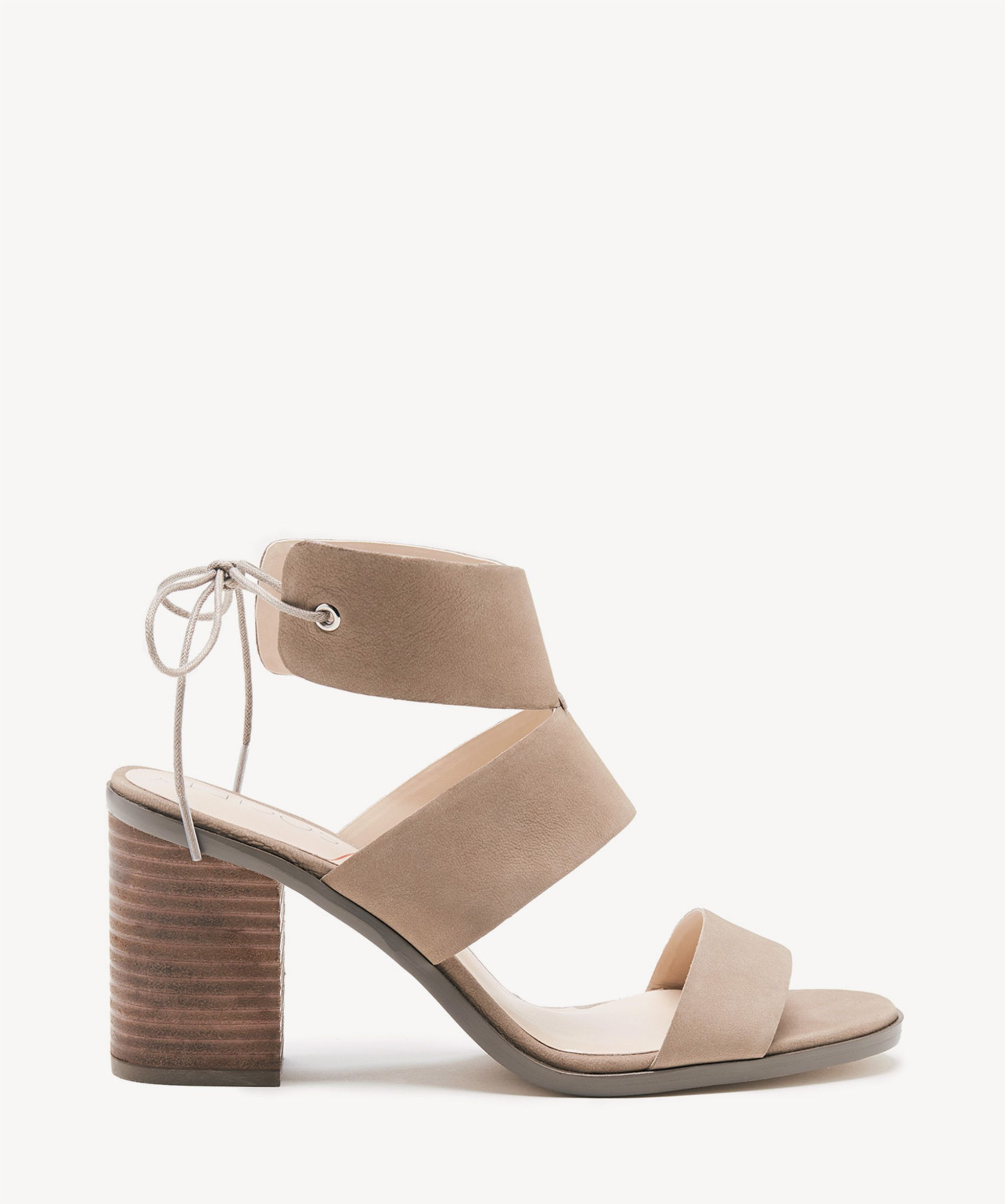 a8a4a7b6765 Sole Society Hayden Backless Heeled Sandals Night Taupe
