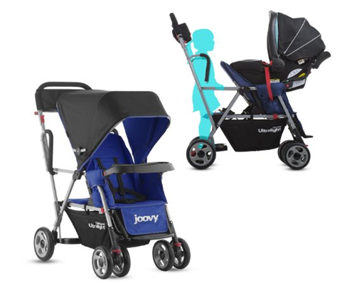 Joovy Caboose Ultralight Stroller Review - best sit and stand ...