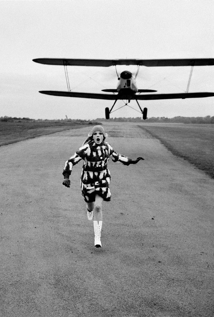 Photo : Helmut Newton - British Vogue, London, 1967