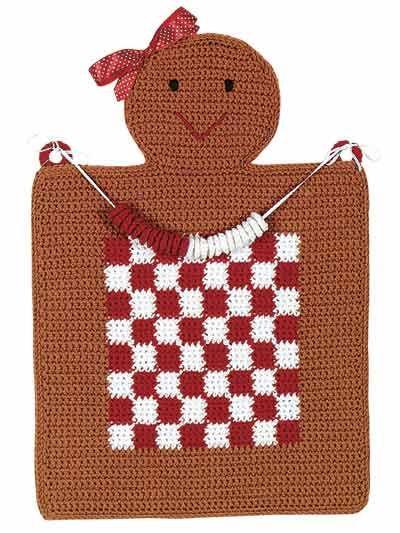 Gingerbread Checkboard - Easy Crochet Pattern Gingerbread 2
