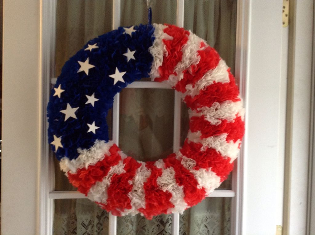 Picture Frame Wreath Dollar Stores