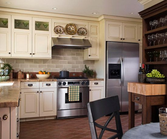 Improve your home 30 weekend projects reddish brown for Improve kitchen cabinets