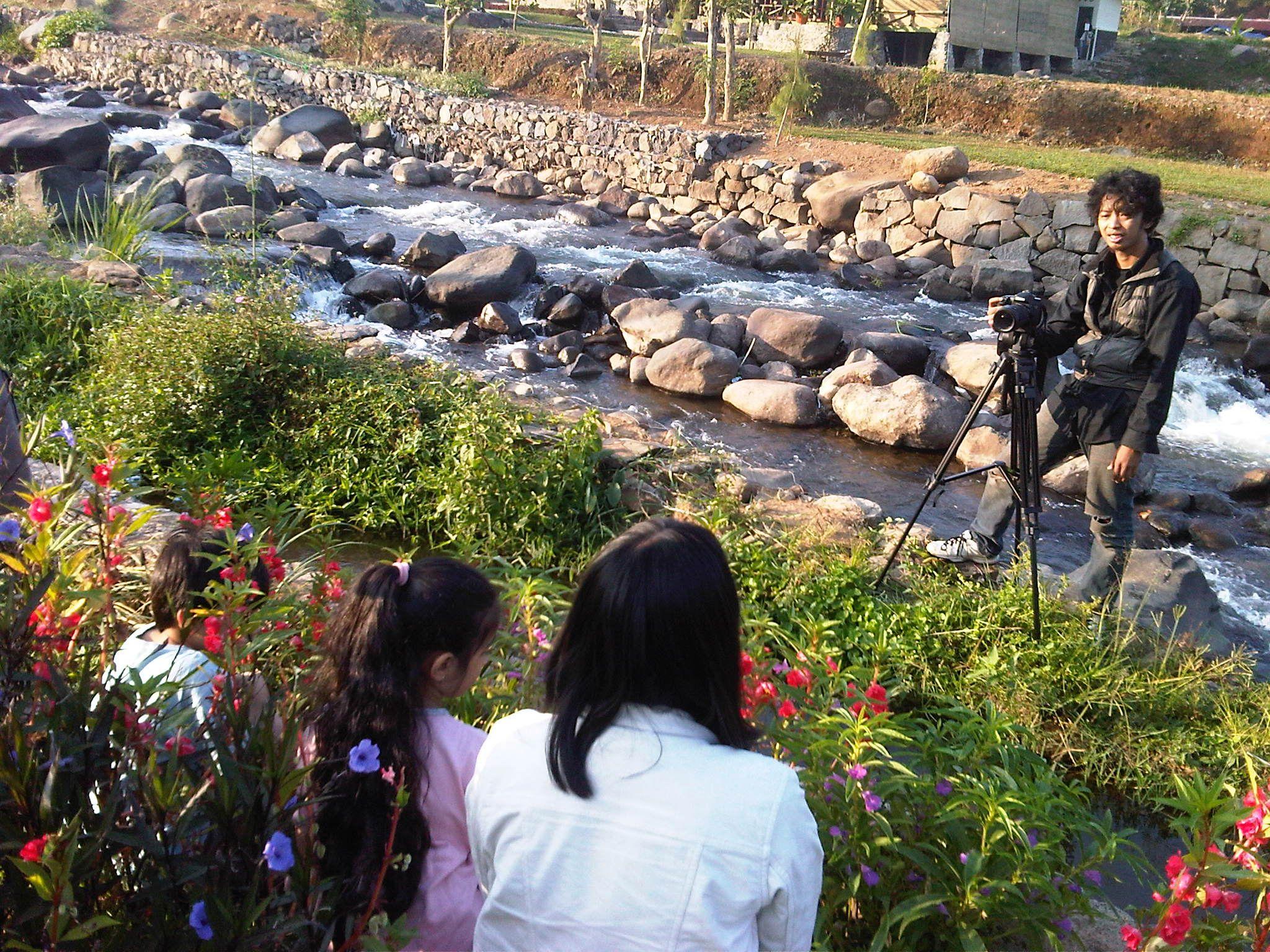 Harmoni Short Film Shooting On Curug Cilember