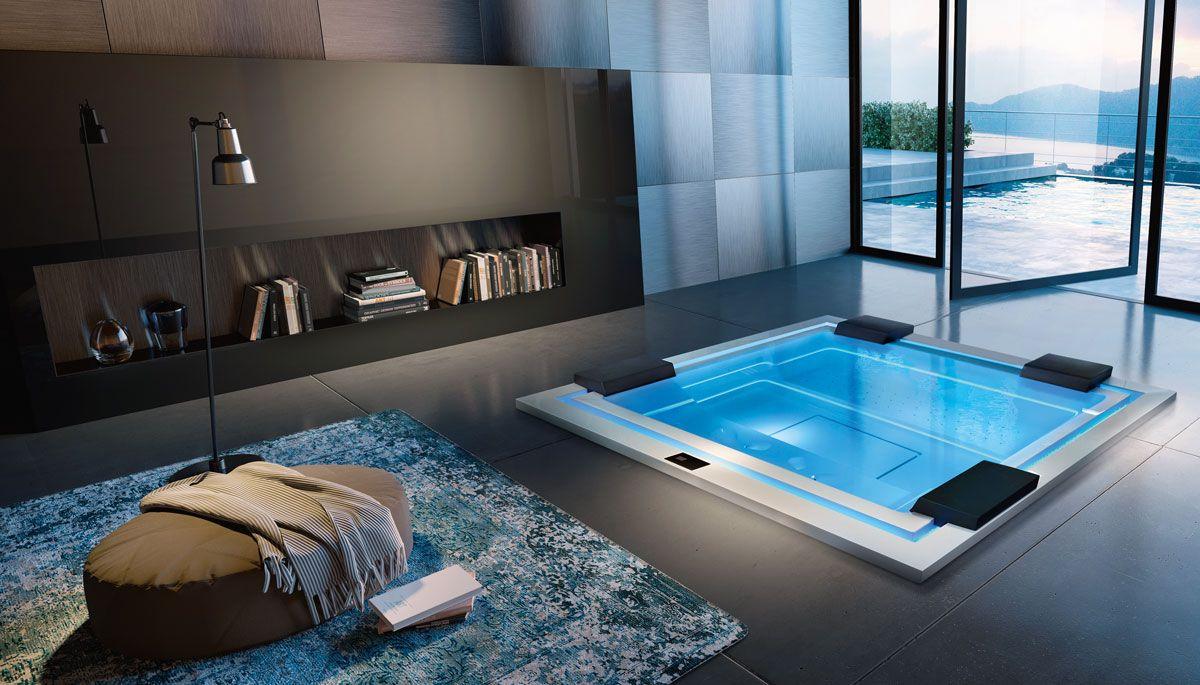 Pin Von Spa Deluxe Gmbh Auf Treesse Design Whirlpools Whirlpool Pool Einbauen Luxus Badewanne