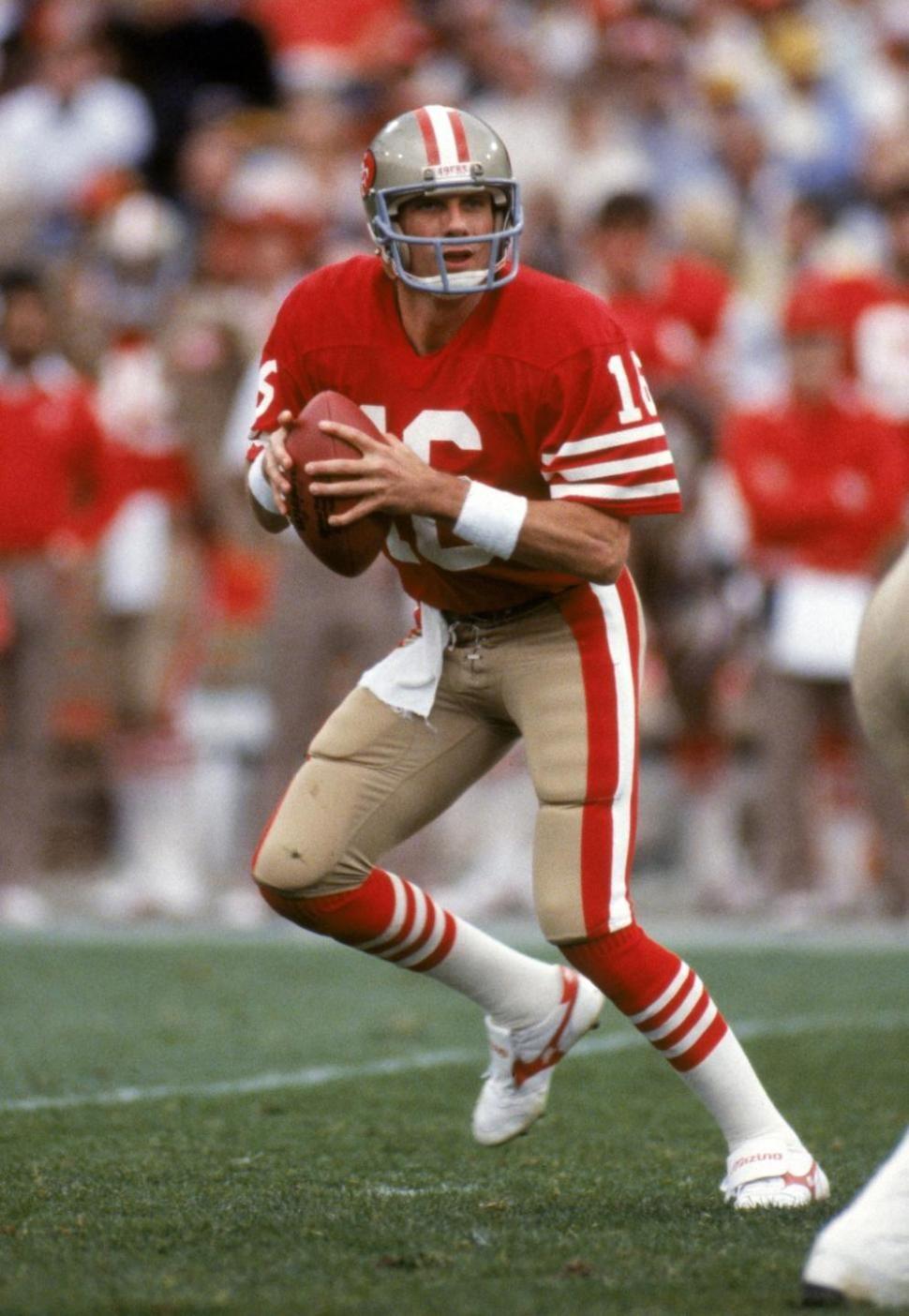 Joe Montana San Francisco 49ers 49ers players, Nfl, Nfl