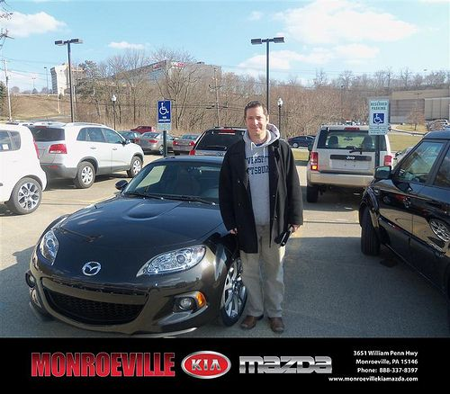 Monroeville Kia Mazda would like to wish a Happy Birthday to James