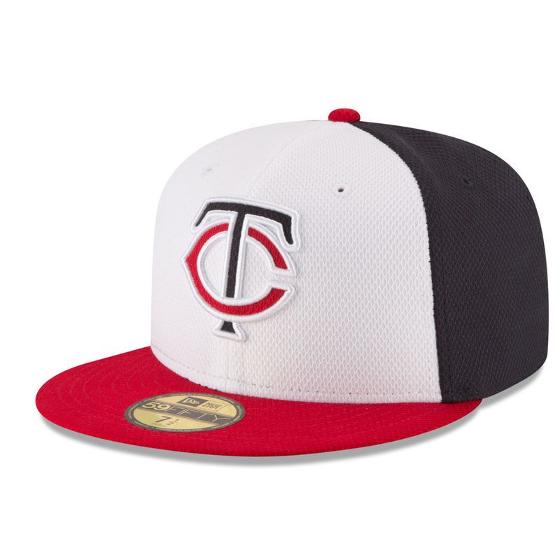 3a800627a25 Minnesota Twins New Era Home Diamond Era 59FIFTY Fitted Hat - Navy White