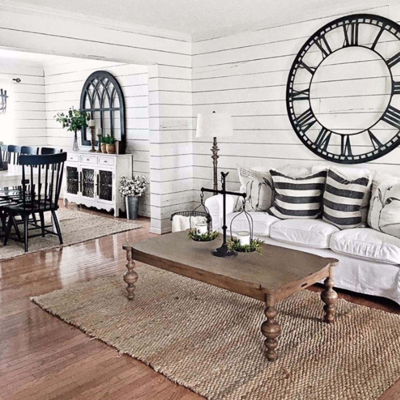 Best Farmhouse Living Rooms • Modern Farmhouse Living Room 400 x 300