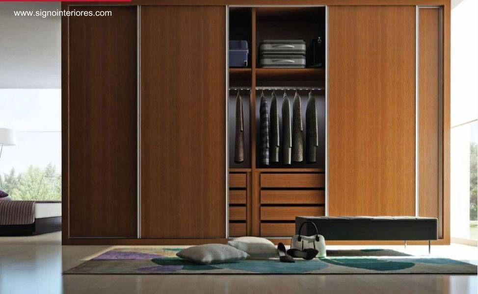 Resultado de imagen para puertas de armarios modernos - Armario 3 puertas correderas ...