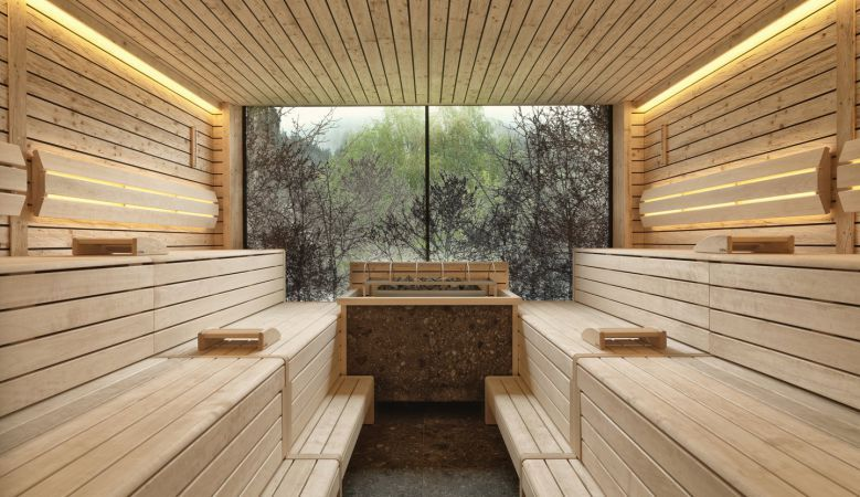 Forest & Nature Spa at the modern design hotel Forsthofgut in ...