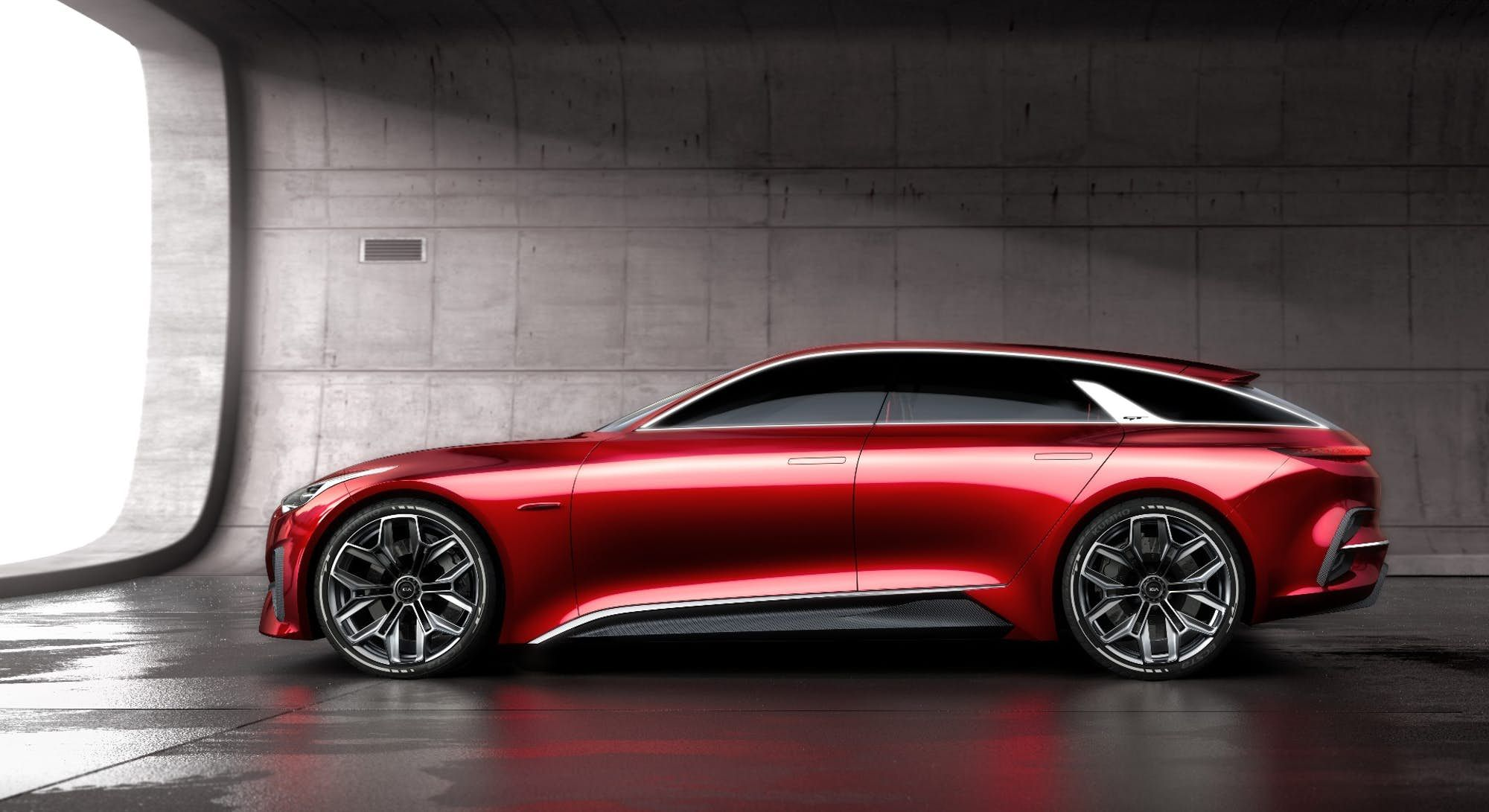 Kia Stretches Out The Hot Hatch With New Concept Car Super Luxury Cars Concept Cars Kia Kia proceed concept frankfurt motor show