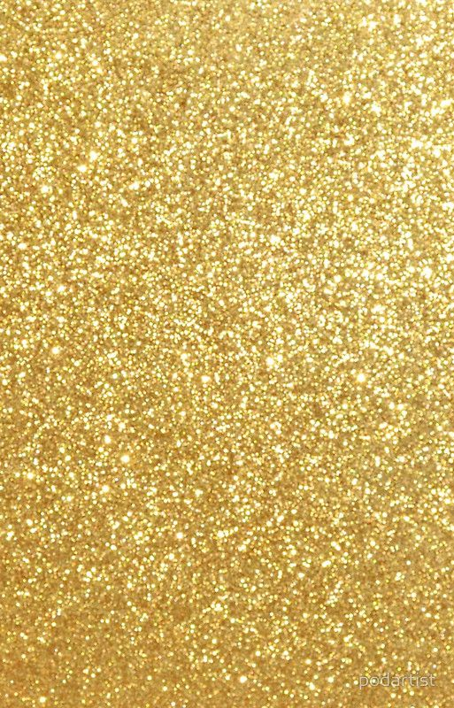'Gold Glitter Sparkly Shiny Metallic Yellow ' iPhone Case by podartist #goldglitterbackground