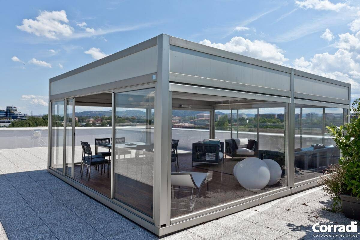 Coberti pergotenda kubo terraza tico pergola - Pergola terraza atico ...