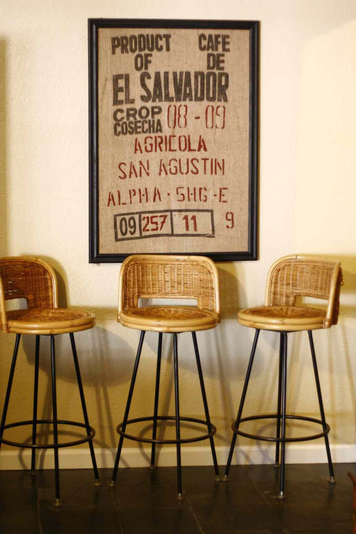 Mid Century Bamboo Bar Stools. Have A Seat And Take A Spin.
