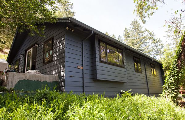 dark exterior house colors - Google Search | cabin exterior ...