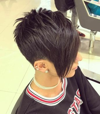 There is Somthing special about wome Short hair styles I'm a big fan of Pixie cu…