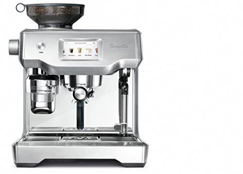 Breville Fully Automatic Espresso Machine, Oracle TouchSWIPE. SELECT. Appreciate: With computerization at each stage, basically swipe and select for coffee, #Cappuccino #espressoathome