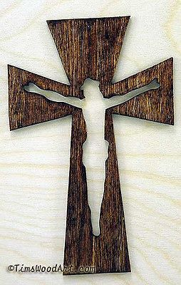 Details About Crucifix Wood Cross New 7 Inch Tall For Wall Hanging Or Ornament Item S3 12 Träslöjd Ramar Idéer
