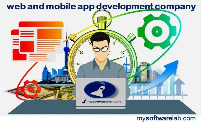 Mysoftwarelab provides number of services like website