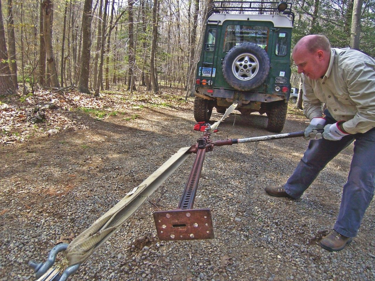 Jack of all trades trading overlanding