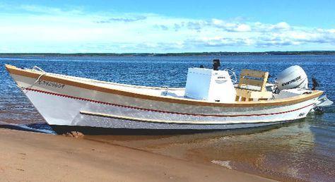 Easy To Build V-Bottom Dory Wooden Boat Plans | boat building ...