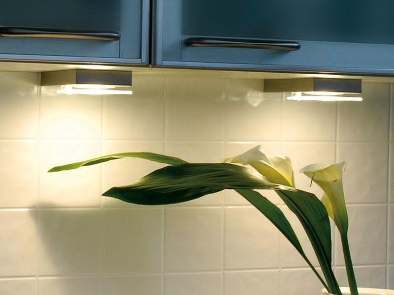 LED Unterbauleuchte Quadra Long Sun Nordsee Küchen Beleuchtung - unterbauleuchten k che led