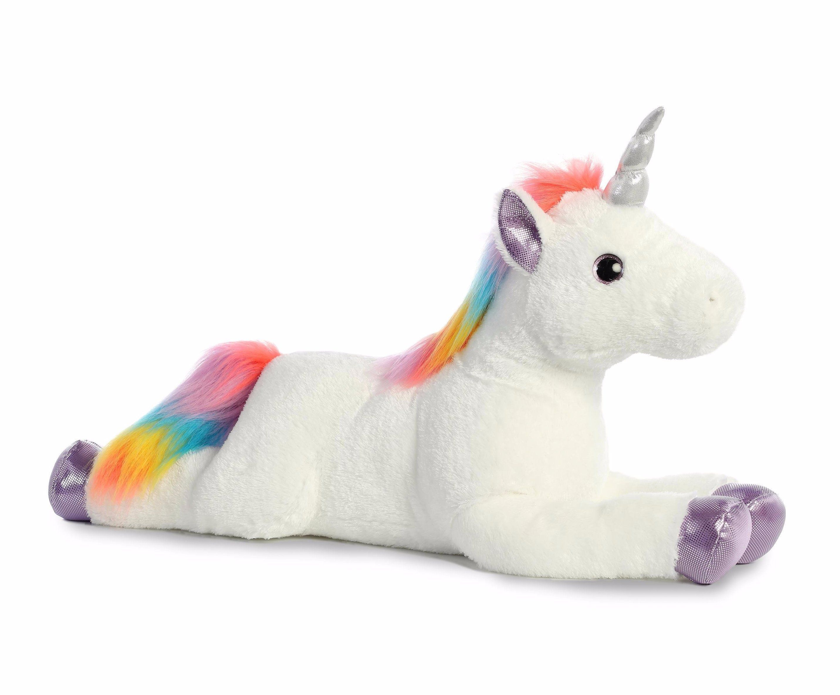 "Plush New with Tags Choose Your Colors Unicorn Plush 15/"" inches Sitting"